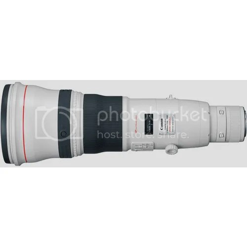 EF 800mm f/5.6L IS II