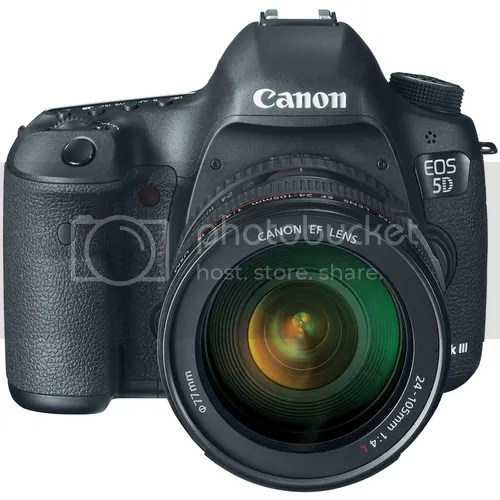 EOS 5D Mark III On First Position