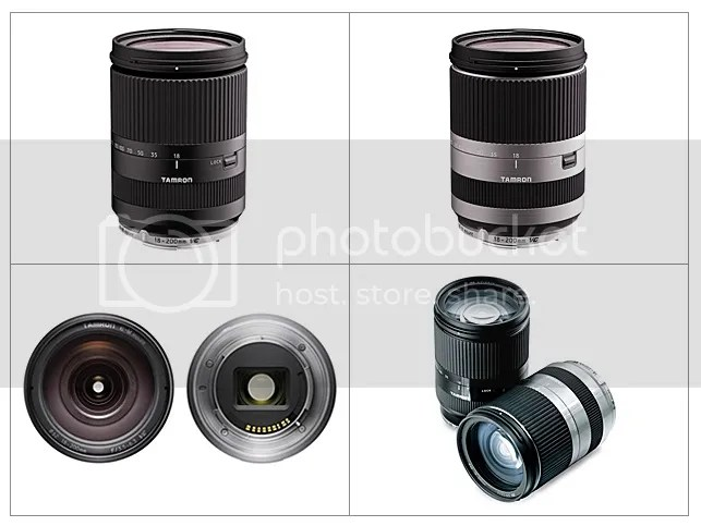 Tamron 18-200mm f/3.5-6.3 Di III VC Lens for Canon EOS M