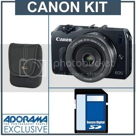 Canon EOS M In Stock Update