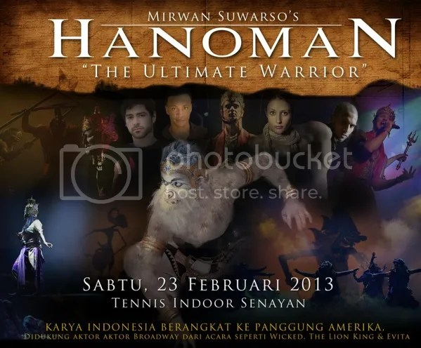 Drama Musikal Hanoman The Ultimate Warrior