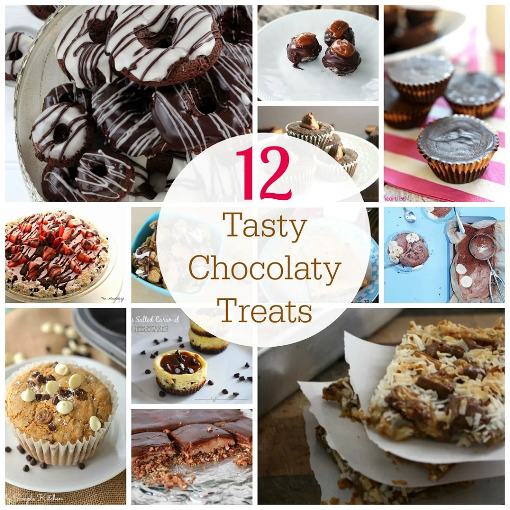 12 Tasty Chocolaty Treats