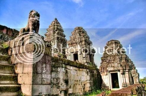 tour du lich campuchia du lich bakheng tct Đi Campuchia: Sài Gòn   Bakheng   Wat Phnom