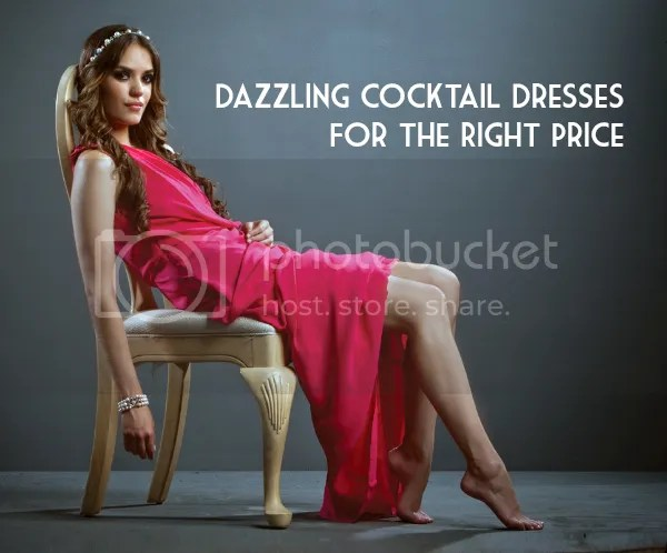 Dazzling Cocktail Dresses For The Right Price