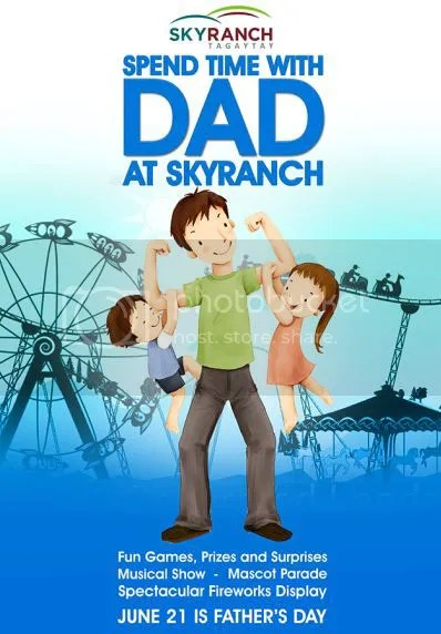 A Blowout For Daddy At Sky Ranch Tagaytay
