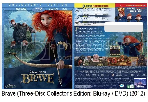 Brave Blu Ray Collectors Edition