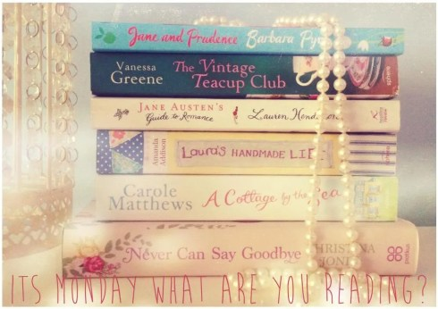 It's Monday What Are You Reading | Vintage Frills