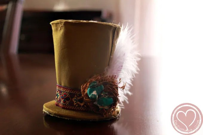 mad hatter tea party hat tutorial, mad hatter tea party, diy, hat tutorial, party decorations, party decor