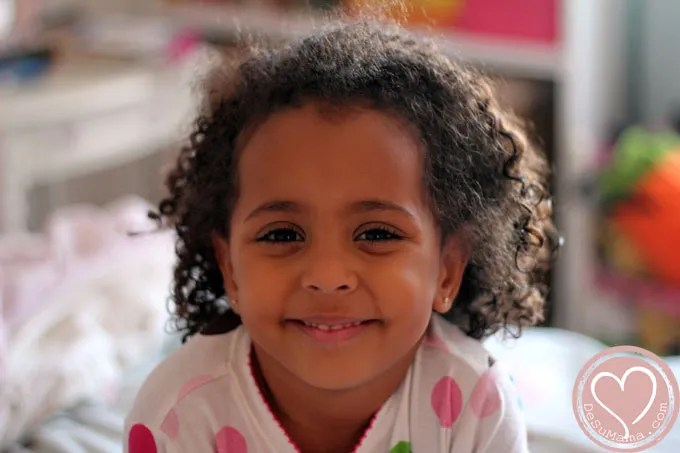 Mixed Baby Girls with Curly Hair