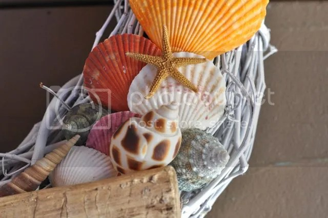 Seashell Wreath Tutorial | by Make Life Lovely