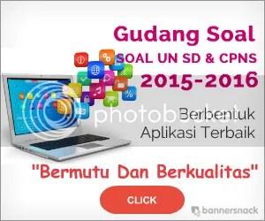 Gudang Soal UN SD/MI Dan Soal CPNS 2015-2016