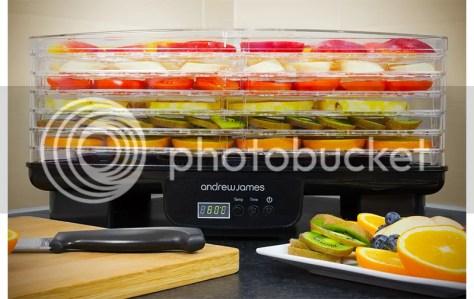 De gekochte andrewjames digital food dehydrator