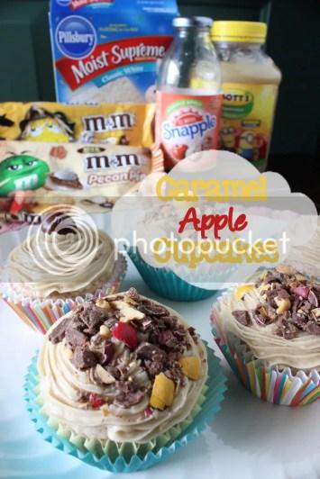 Caramel-Apple-Cupcakes