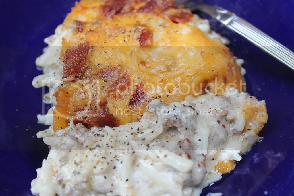 Fully Loaded Hashbrown Casserole