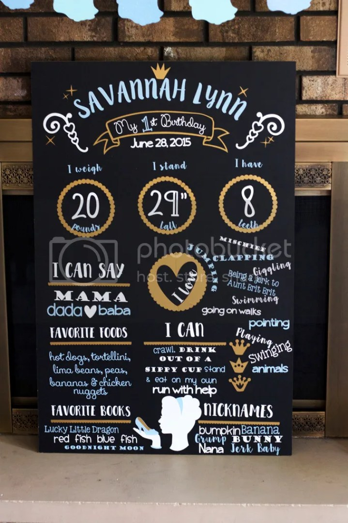 Creating a faux birthday chalkboard has never been easier! Use this method to make a beautiful birthday board infographic that is not only an adorable statement piece but a great way to record the stats of your kids, friends & family! @diyjustcuz