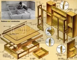 free wooden shelf plans