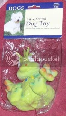 Toxic Dog Toy