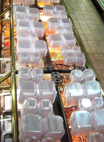 buffet from above