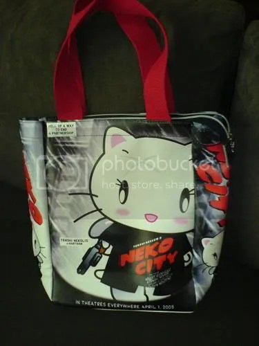 Sin City Hello Kitty handbag mashup