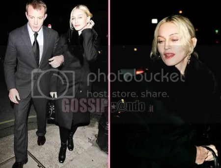 Madonna ricompare con il marito in pubblico a Londra