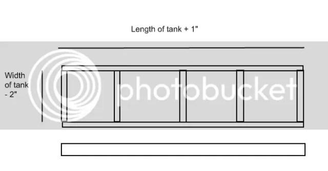 125 gallon aquarium stand plans