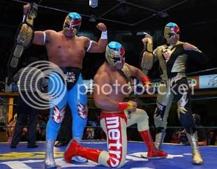 new champs/Fuego en el Ring