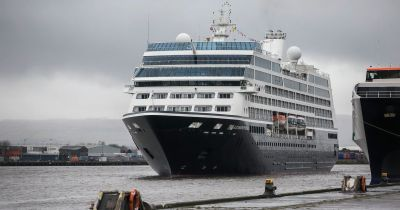 'New chapter for Belfast ship-building' with arrival of cruise liner - Belfast Live