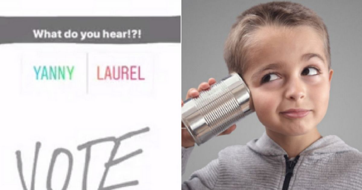 Yanny or laurel  creator reveals what he ACTUALLY said   CoventryLive  Yanny or laurel  creator reveals what he ACTUALLY said   CoventryLive