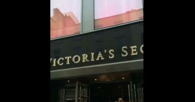 Hundreds of people queue at new Victoria's Secret opening ...