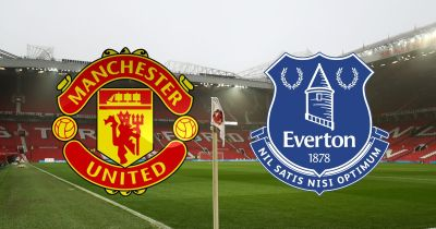 Manchester United vs Everton RECAP - Blues looking to fight back after early setback at Old ...