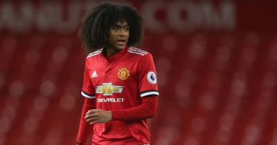 Tahith Chong impresses for Manchester United again as U23s draw against Everton - Manchester ...