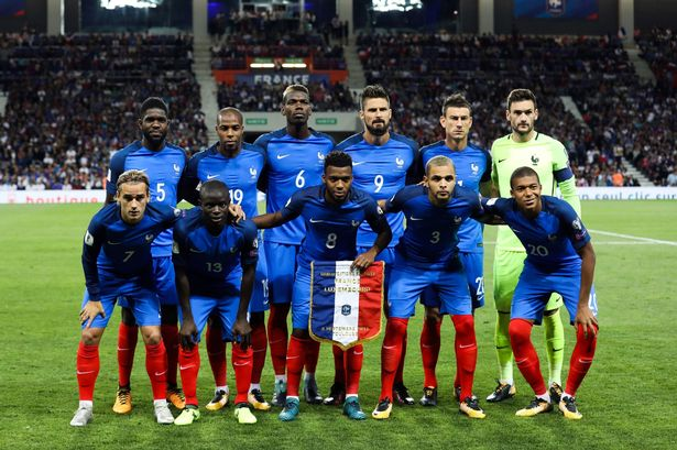 France pip England as most expensive national team ever as Les Bleus     Are France really worth     1billion   Image  Icon Sport