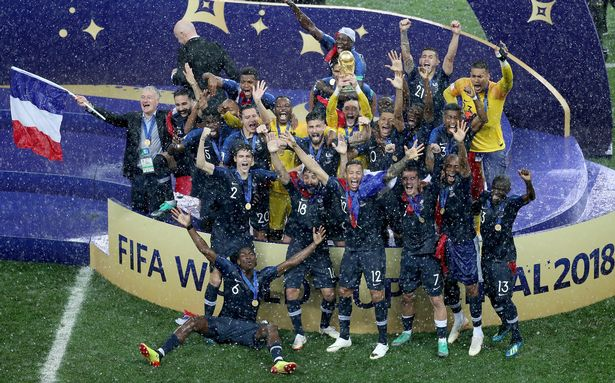 World Cup 2018 awards  Winners of Golden Ball  Golden Boot and     France lift the World Cup trophy  Image  Getty Images Europe