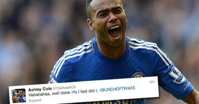 Ashley Cole captains England seven months after bunch of twats blast at the FA - Mirror Online