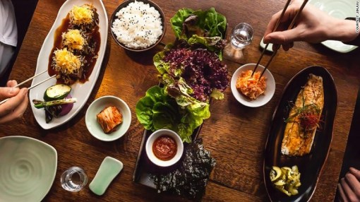 <strong>Jinjuu Mayfair, London<strong></strong>: </strong>Jinjuu will be chef Judy Joo's second opening in London (and third in the world). It serves up fun and modern Korean food.