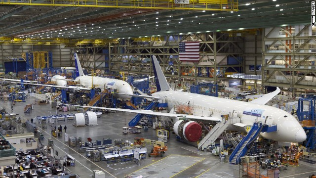 Gallery: Boeing\'s giant factory