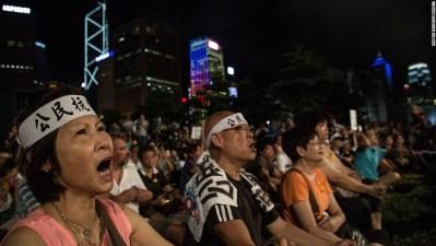 511 arrested at Hong Kong pro-democracy protest - CNN.com
