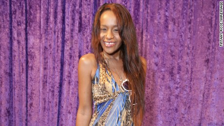 Bobbi Kristina Brown appears at a Grammy Awards event last year.