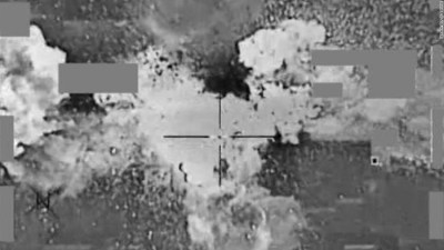 U.S. airstrike on ISIS cash depot sends money into air ...