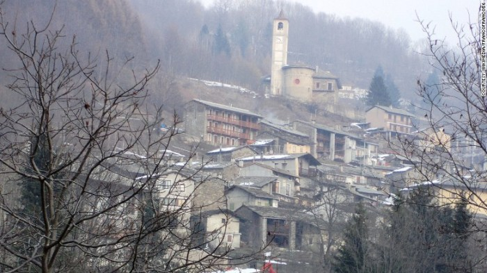 The alpine town of Ostana, in the Italian region of Piedmont, welcomes its first baby in 28 years