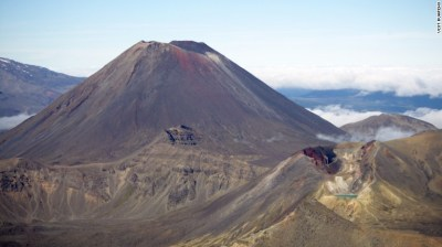 Tongariro Alpine Crossing was considered the perfect setting for part of J.R.R. Tolkien's fictional universe.