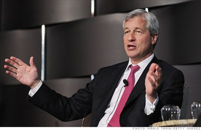 JPMorgan's Dimon is best paid bank CEO -- for now - Jun. 20, 2012