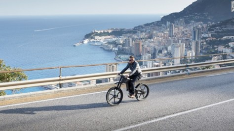 E bikes reach business executives