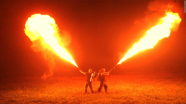 Check out the $  1,600 flamethrower