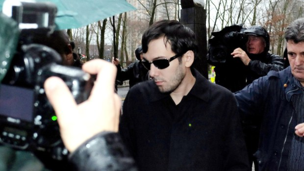 Martin Shkreli fired from another drug company