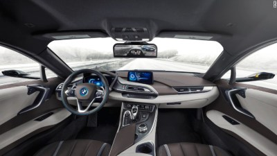 BMW shows off mirrorless i8 concept car at CES