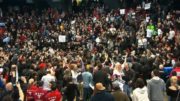 Violence continues at Donald Trump rallies