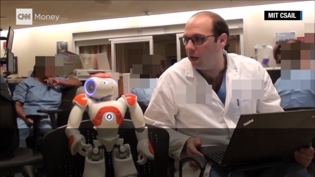 MIT robot schedules baby deliveries