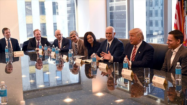 trump tech summit meeting