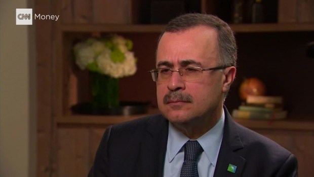 Saudi Aramco CEO: IPO still on track for 2018